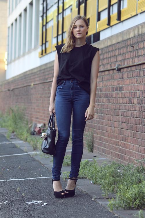 high waisted jeans1