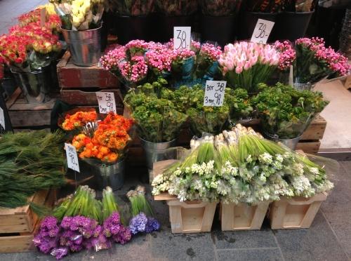 torvehallerne blomster